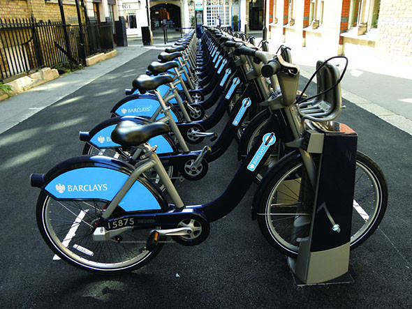 Иностранный опыт: Система общественного велопроката в Лондоне. Изображение № 1.