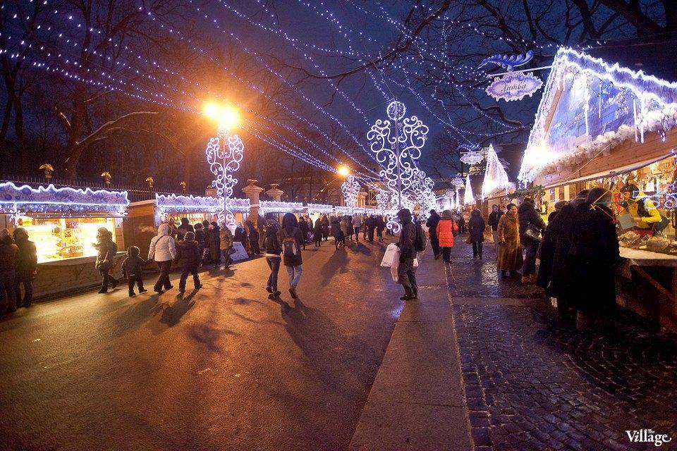 Люди в городе: Продавцы рождественской ярмарки на Островского. Изображение № 14.
