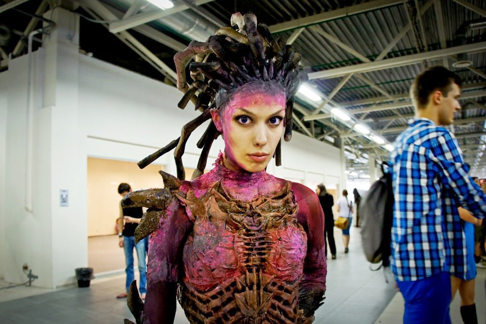 Фоторепортаж: Поклонники фантастики на фестивале «Старкон» в Петербурге. Изображение № 36.