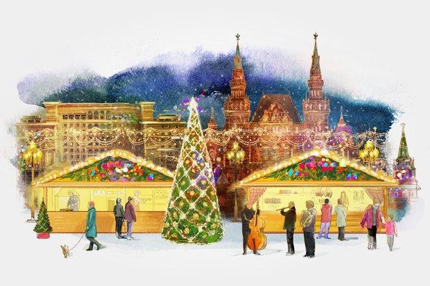 У рождественских ярмарок появился фирменный стиль и вирусный ролик. Изображение № 7.