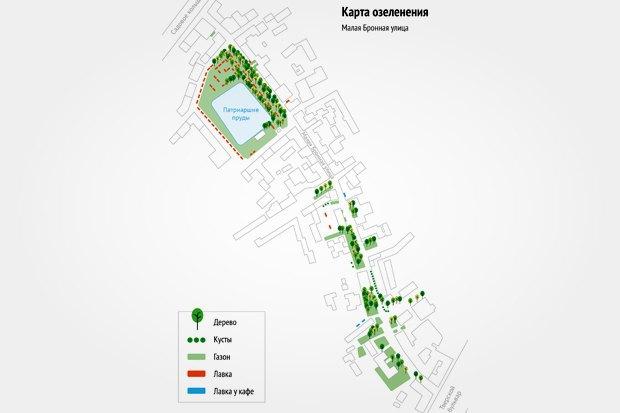 «Городские проекты» разработали проект реконструкции Малой Бронной улицы. Изображение № 4.