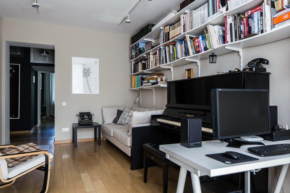 Квартира для молодой семьи вбывшей коммуналке . Изображение № 4.