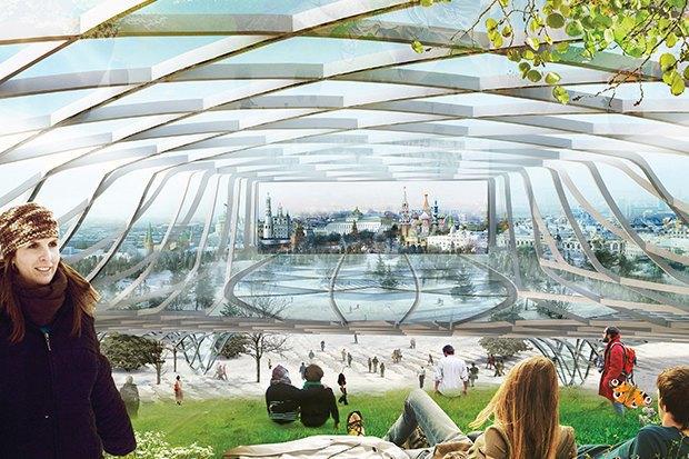 На территории будущего парка «Зарядье» появится интерактивный павильон. Изображение № 11.