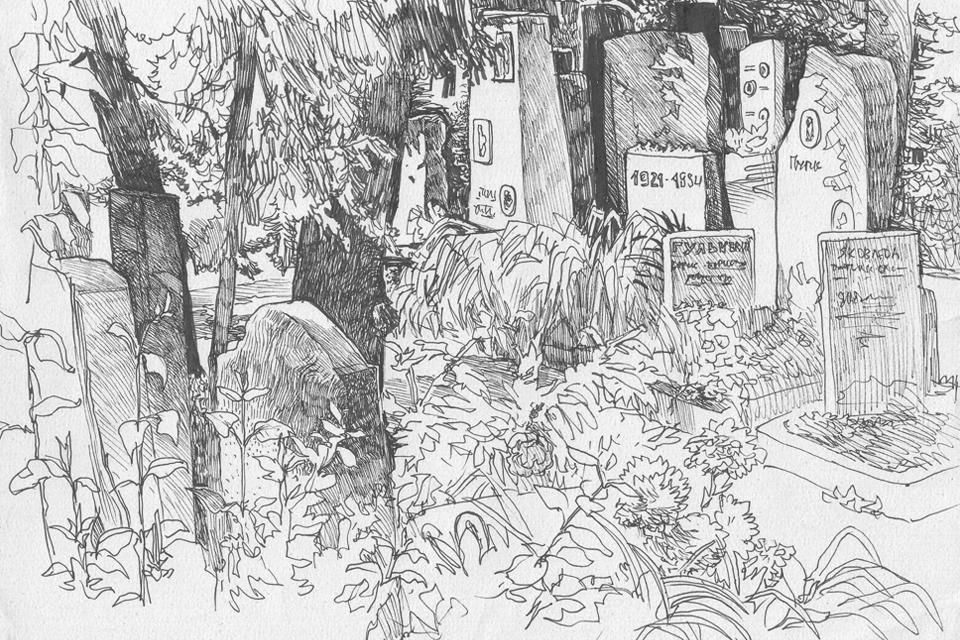 Старое Донское кладбище. Изображение № 7.