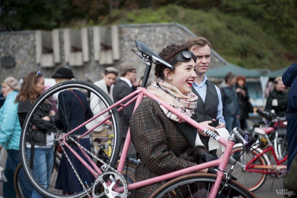 Твид выходного дня: Участники ретрокруиза — о своей одежде и велосипедах. Изображение № 5.