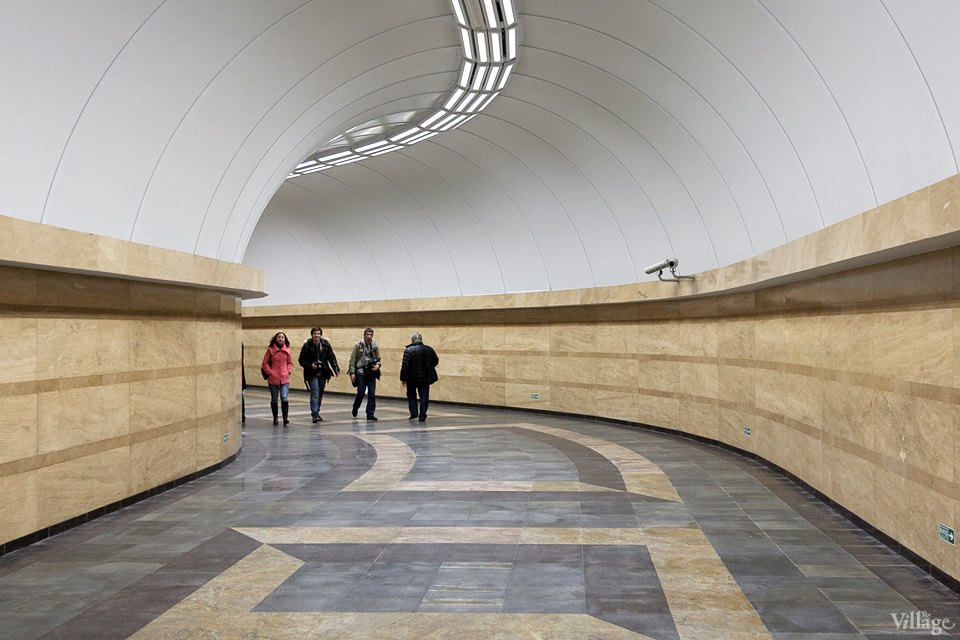 Фоторепортаж: Новый вестибюль «Спасской» изнутри. Изображение № 16.