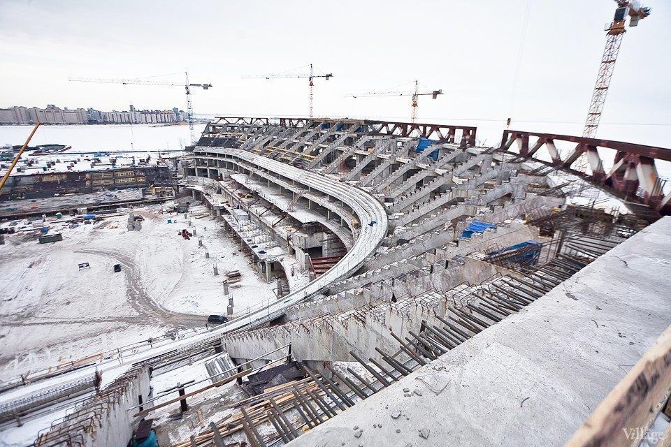 Фоторепортаж: Стадион «Зенит-Арена» изнутри. Изображение № 5.