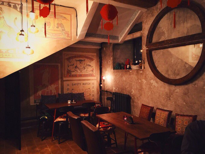 Команда CoffeeRoom открыла суши-бар вподвале Mickey&Monkeys. Изображение № 1.