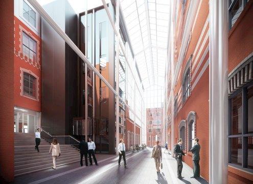 На фабрике «Большевик» откроют музей современного искусства. Изображение №1.