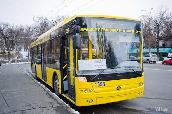 В Киеве запустили сто новых автобусов и троллейбусов. Изображение № 6.
