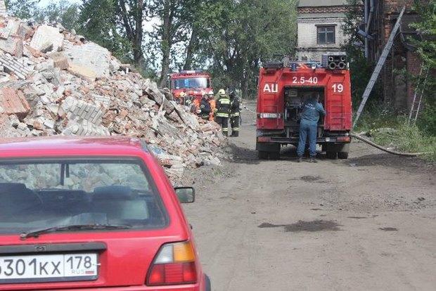 Утром горел корпус бывшего Варшавского вокзала. Изображение № 3.