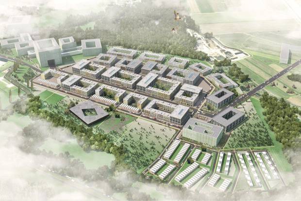 Проект планировки района «Южный» (D-1) инновационного центра «Сколково». Изображение №1.