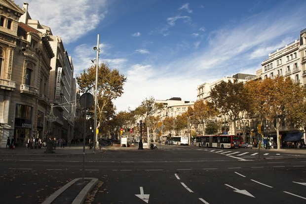 Грасия, независимый каталонский квартал. Изображение № 1.