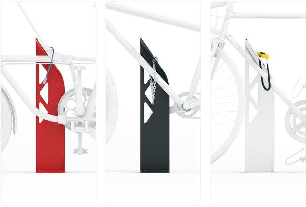 Студия Лебедева разработала концепт уличных велопарковок. Изображение № 3.