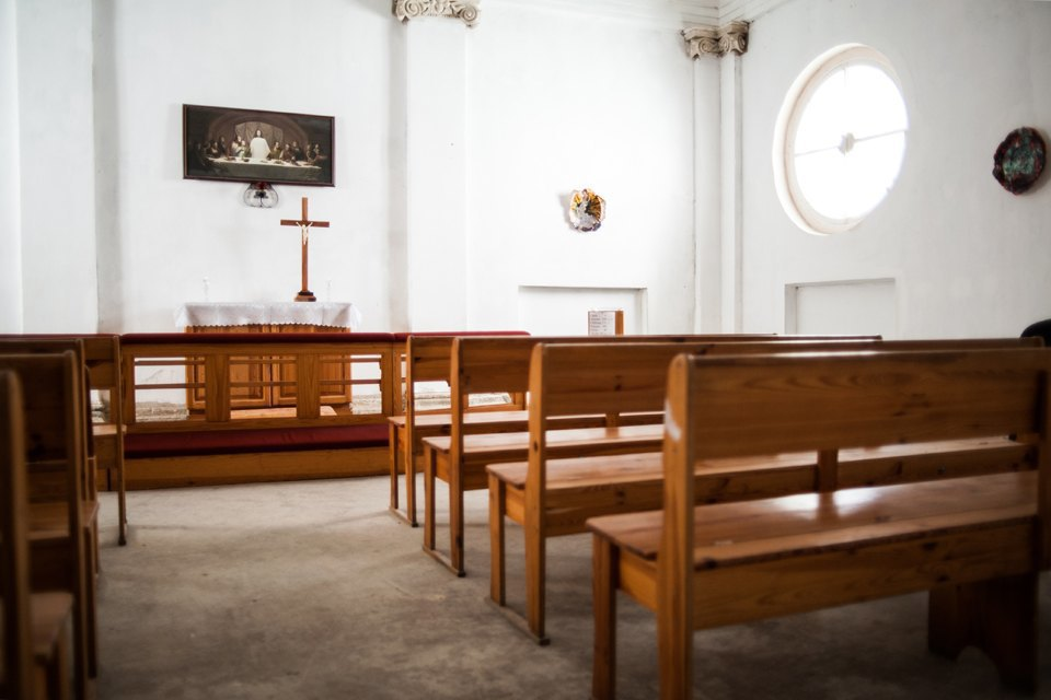 Как лютеранская церковь стала площадкой для современных художников. Изображение № 15.