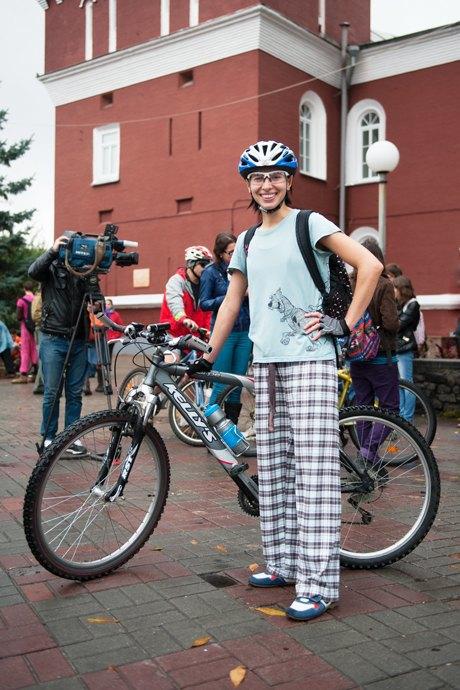Люди в городе: участники велопарада впижамах. Изображение № 15.