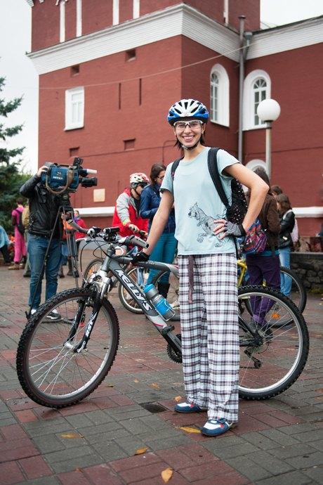 Люди в городе: участники велопарада впижамах. Зображення № 15.