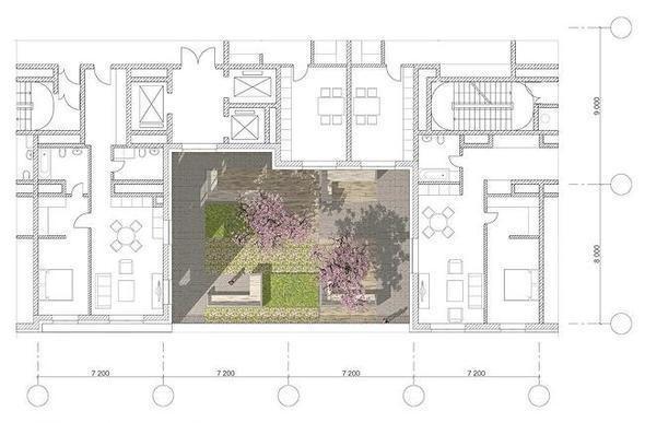 Изображение 5. В Москве построят многоэтажку с зелёными дворами на разных этажах.. Изображение № 10.