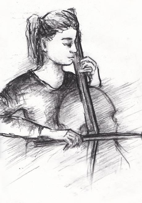 Клуб рисовальщиков: Музыканты. Изображение № 3.