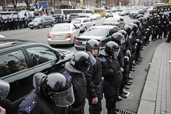 Copwatch: Действия милиции на Крещатике в день оглашения приговора Юлии Тимошенко. Зображення № 7.
