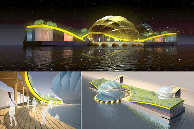 Берега-утопии: Какой могла бы быть Москва-река. Изображение № 11.