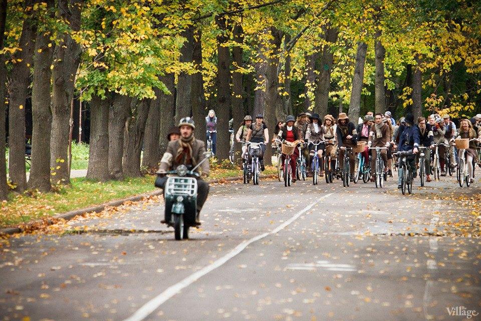 С твидом на город: Участники велопробега Tweed Ride о ретро-вещах. Изображение № 43.