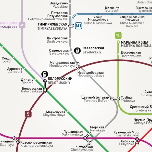 различные схемы метро для