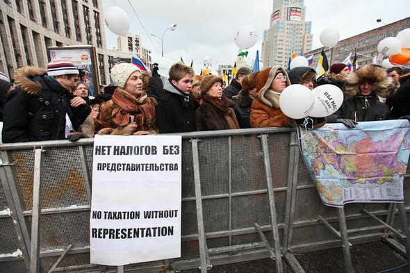 Митинг «За честные выборы» на проспекте Сахарова: Фоторепортаж, пожелания москвичей и соцопрос. Изображение № 51.