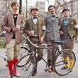 Second Time: В Киеве прошёл второй велокруиз в стиле ретро. Изображение № 1.