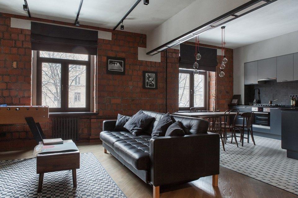 Трёхкомнатная квартира для холостяка наТишинке. Изображение № 6.