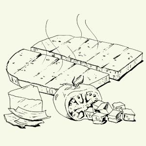 Завтраки дома: Бейгл с лососем иартишоками ибрускетта изресторана «Уголёк». Изображение № 8.