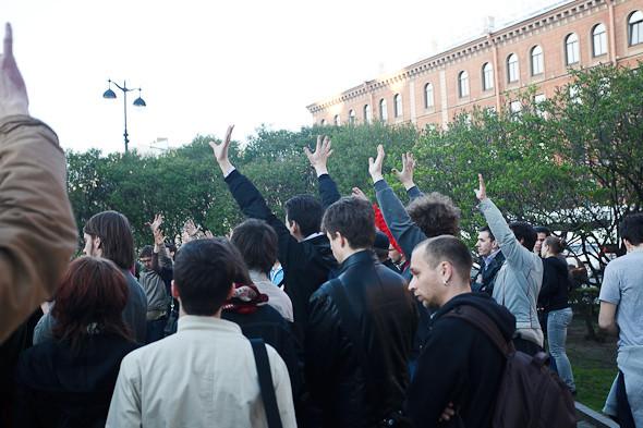Люди в городе: Чего хотят митингующие на Исаакиевской . Изображение № 7.