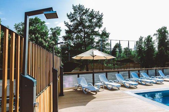 В «Лужниках» откроется зона отдыха сдвумя бассейнами. Изображение № 2.