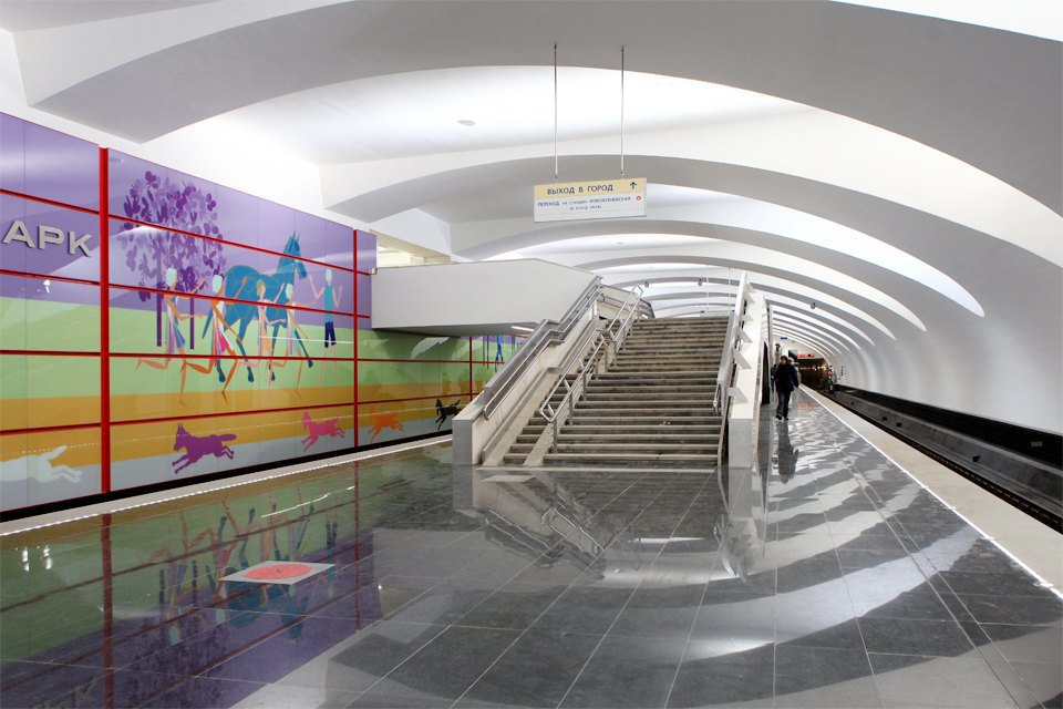 Новые станции метро «Лесопарковая» и«Битцевский парк». Изображение № 10.