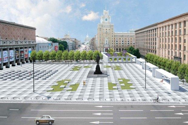 Как будет выглядеть Триумфальнаяплощадь: Три концепции финалистов. Изображение № 4.