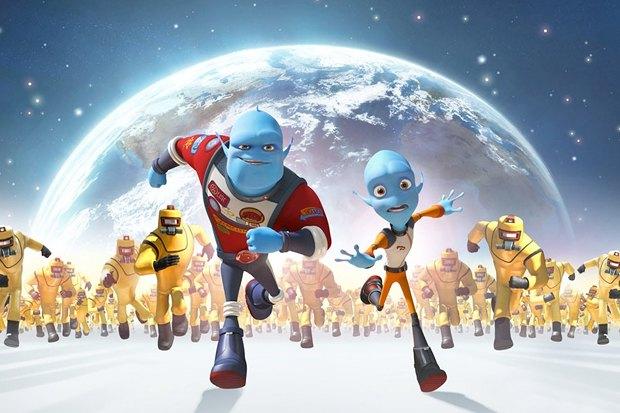 «Побег с планеты Земля», комедийно-героический мульт про высадку пришельцев на Землю, показанную с точки зрения пришельцев. Изображение № 5.