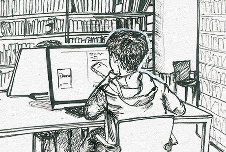 Библиотека им. Достоевского . Изображение № 4.
