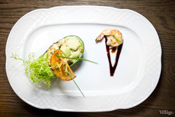 Салат из авокадо с кальмаром, мидиями и креветками - 210г - 87.00 грнСалат из авокадо с кальмаром, мидиями и креветками - 87грн. Изображение № 22.