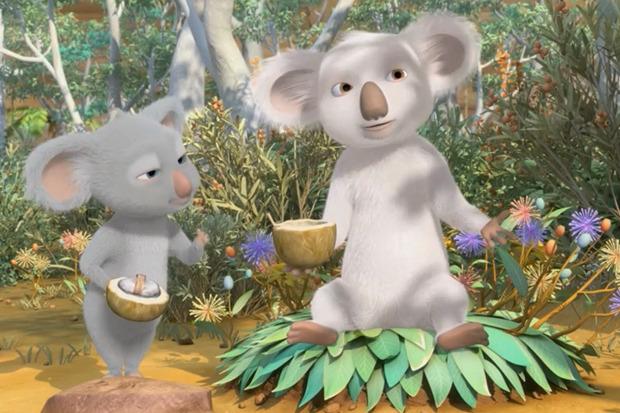 «Пушистые против зубастых», 3D-мультфильм о героической белой коале. Изображение № 3.