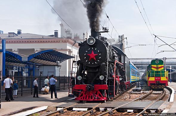 Вокруг Киева курсирует ретропоезд. Зображення № 4.
