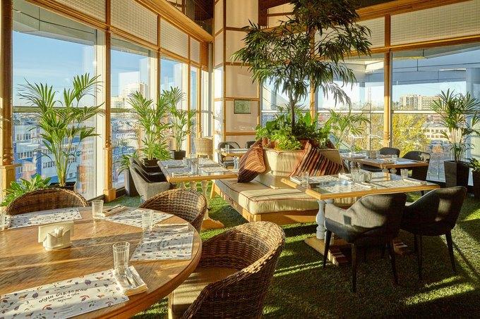 Ginza Project открыла ресторан «Баклажан» в«Европолисе» . Изображение № 2.