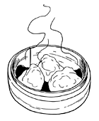 Рецепты шефов: Дим-самы скреветками, уткой и тыквой. Изображение № 2.