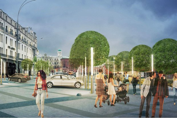Wowhaus разработали проекты реконструкции московских площадей. Изображение № 1.