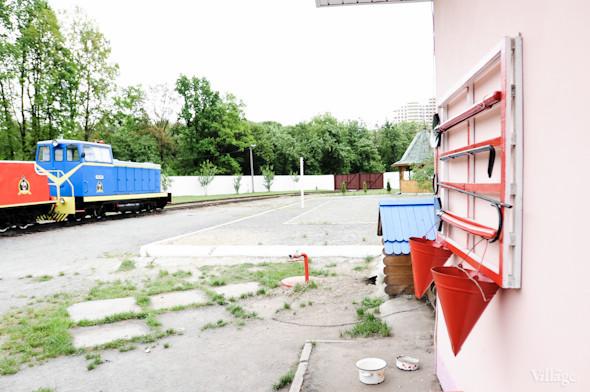 Фоторепортаж: В Киеве открылся сезон на детской железной дороге. Зображення № 13.