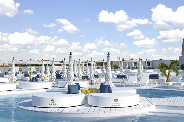 На крыше парковки Ocean Plaza откроют пляжный клуб с бассейнами и барами. Зображення № 1.