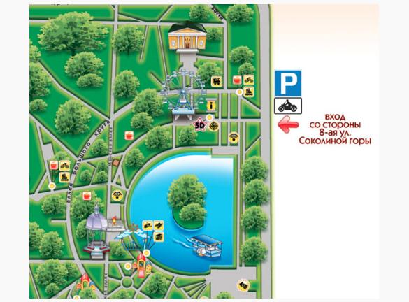 В Измайловском парке открыли бесплатную мотопарковку. Изображение № 1.