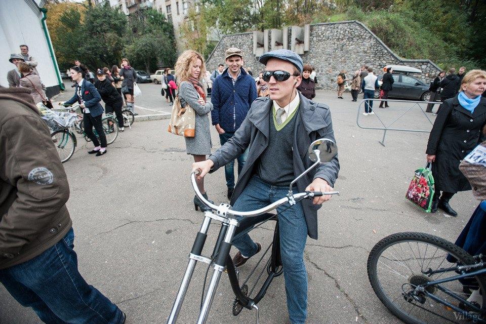 Second Time: В Киеве прошёл второй велокруиз в стиле ретро. Изображение № 5.