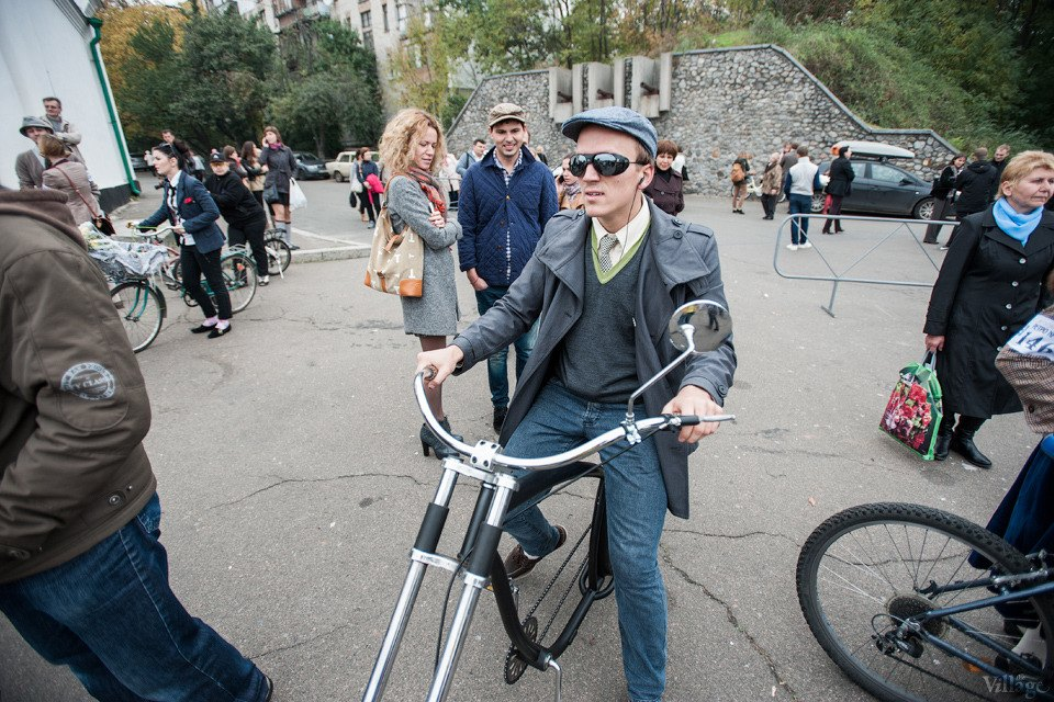 Second Time: В Киеве прошёл второй велокруиз в стиле ретро. Зображення № 5.