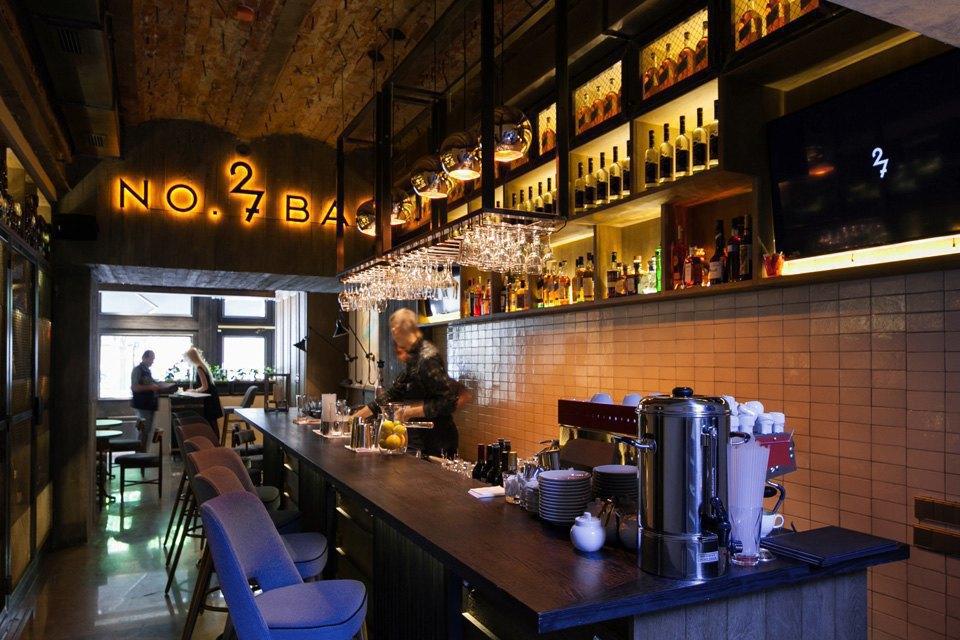 Bar27 и ресторан GooseGoose наБольшой Конюшенной . Изображение № 9.
