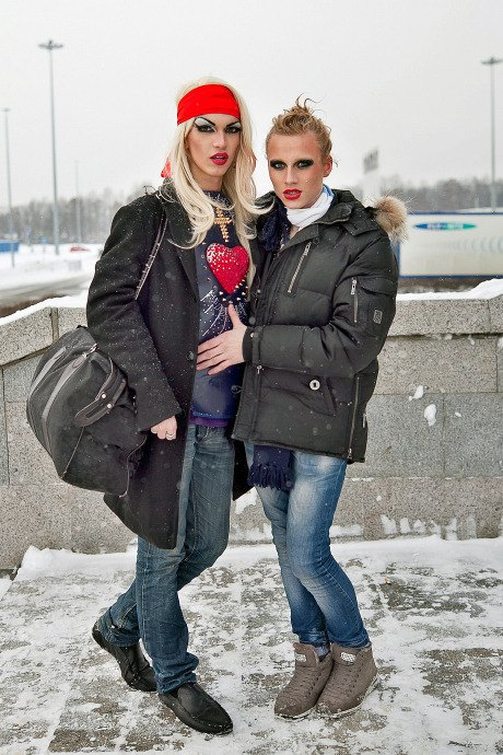 Люди в городе: Посетители концерта Lady Gaga в Москве и Петербурге. Изображение № 28.